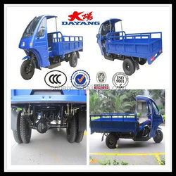 Africa market 150cc air cooling best selling china cargo tricycle five wheel motor tricycle with dumper in Kenya