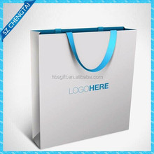 Shopping gift paper bag with 2012 new design