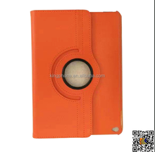 alibaba high quality 360 degree rotating stand PU flip leather Case for ipad air 2