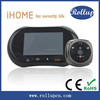 Smart home automation 3.7inch touch screen WiFi Door Viewer Peephole with 2.0MP Camera and Doobell button