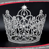 Fashion tall pageant crown tiaraHG004large bridal rhinestone crown pageant tiara