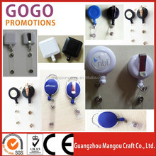 Custom decorative badge reels for promotional activities, factory price wholesale custom retractable id badge reels