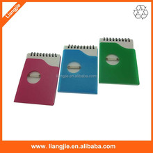 Plastic Cover Notebook , Plastic Rings Notebook, PP cover notebook