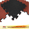 recyclable rubber sports flooring tile for gym fitness playground
