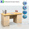 Modular Steel Wooden Office Desk For Corner Use