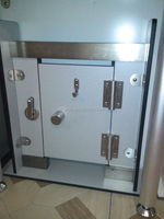 Youma factory direct sale toilet cubicle 304 stainless steel hardware