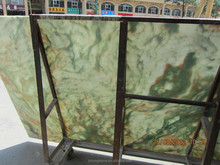 Jinlong green onyx slabs price green onyx marble