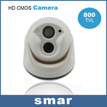 Security&Protection 800TVL CMOS Night Vision Array Infrared LED Dome Camera OSD Menu Support UTC Remote Control Free Shipping