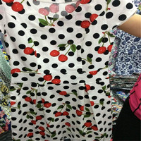 Wholesale 40s printed 100 cotton poplin fabric for dress