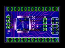 PCB design development