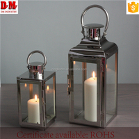 New Design Bar Decoration Iron Candle Holder Insert Metal Holders