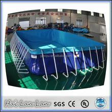 2015 new design indoor pvc vinyl used swimming pool for sale 50m*15m*1.5m