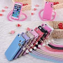PU Leather with Lanyard Case For Samsung Galaxy s3 i9300