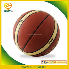 Brown PU Laminated Basketball