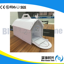 Portable coroplast pet house/ carrier box