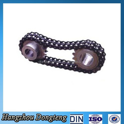 ISO 9001:2008 Short Pitch Precision Duplex Roller Chain