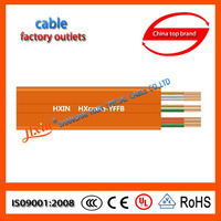 IEC Standard CCC Certified Electrical Wire flat flex cable for conveyors