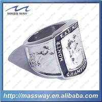 souvenir customized engraved enamel custom fashion brass ring