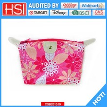 wholesale pvc covered canvas cosmetic case
