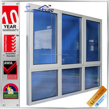 sound proof and weather proof Chinese Latest style large glass windows