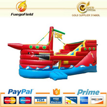 New style top sell child game pirate ship made in china