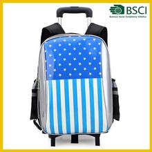 Top quality brand kids trolley school bag