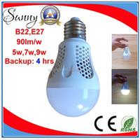 5w 7w 9w rechargeable led emergency bulb