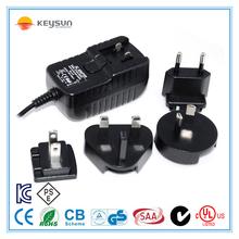 5V 1000mA 5W dc interchangeable power supply