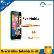 Explosion-proof 0.20mm Hardness tempered glass screen protector for Mobile Phone Nokia lumia 625 / 720