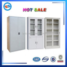 modern KD metal tall storage cabinet with doors for sale