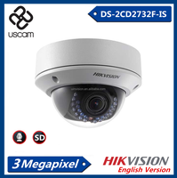 Hikvision 3.0MP IP camera POE cctv DS-2CD2732F-IS