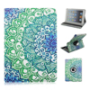 Painted Floral 360 Rotate Flip Stand PU Leather Case For Apple iPad Mini 1/2/3