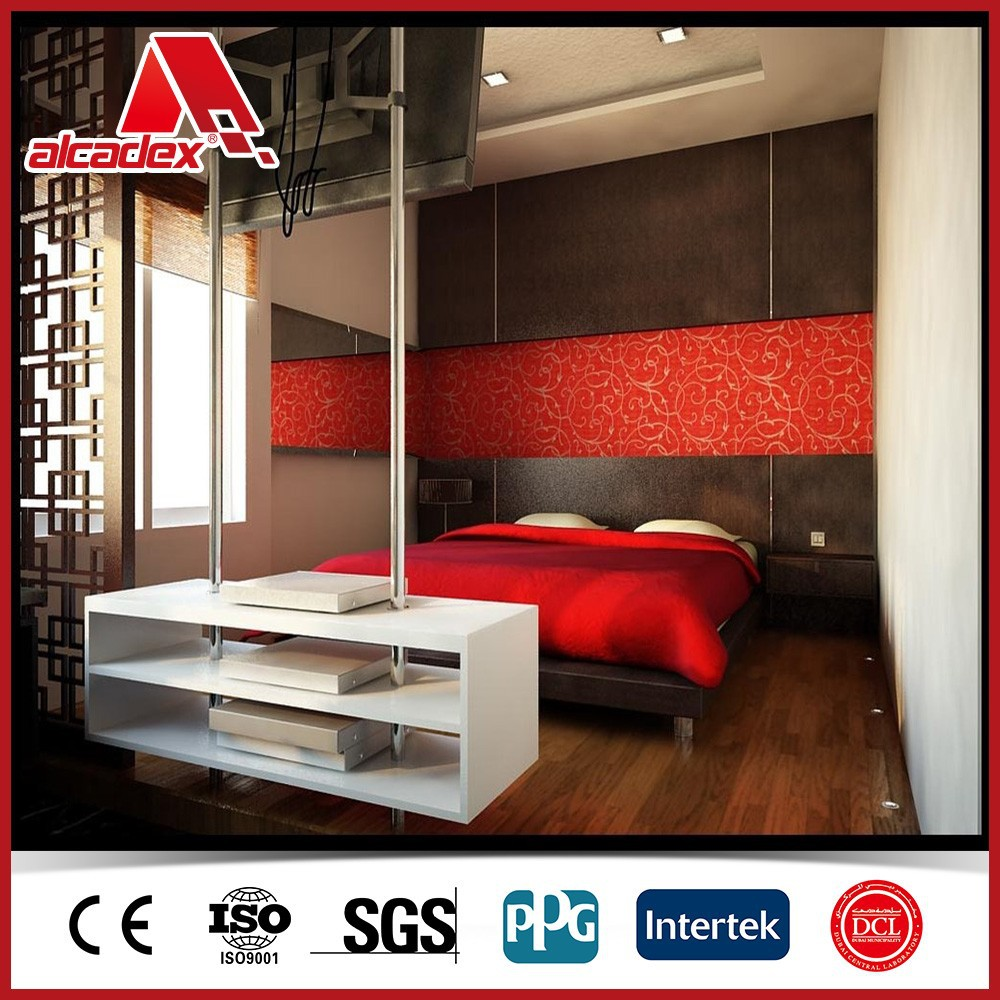 Bedroom Interior Decoration Panel For Wall Acp Buy Acp