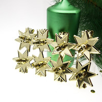 Star shape candle holder with clip Metal Candle Holder