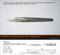 72mz High Temperature Resistance Ceramic Tweezers