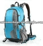 Polyester 600D sports backpack with water bottle holder hiking lightweight