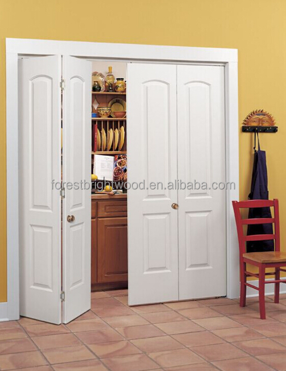 Custom Bifold Closet Doors : Custom design slabs interior folding doors wood bifold