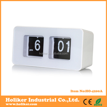 flip day date digital clock for promotional gifts