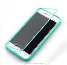 Cellphone accessory horizontal flip case for iphone 6