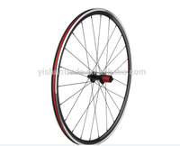 2015 YISHUN BIKE 700C Road 10/11s 27mm Height 20mm Wide Light Alloy Bicycle Wheels For Sale AL27C