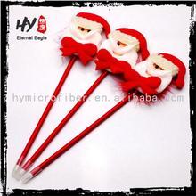 Eco-friendly santa claus pen, chirstmas ballpen, christmas promotional pens