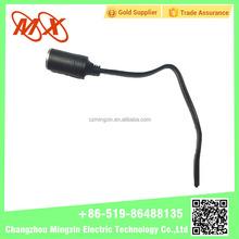 Wholesale Voltage Test Led Light and USB Car Cigarette lighter female Plug Adapter Car Cigarette lighter Socket
