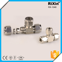 RX-1048 STAINLESS STEEL COMPRESSION TEE FOR AIR LINE (WITH REAL PRICE )