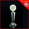 cheap new design crystal glass world cup trophy award