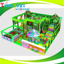 Preschool playground equipment swing set and slide set for small children