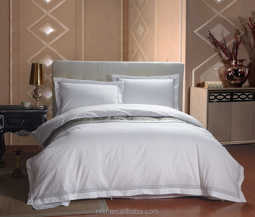 Best Selling Products Embroidered Fabric Bedding Sets Bed