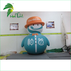 Standing Inflatable Boy Balloon , Inflatable Cute Boy For Advertising