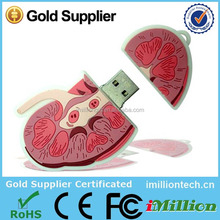 Kidney shape usb,rubber kidney usb flash drives,medical usb flash drive as promotional gifts