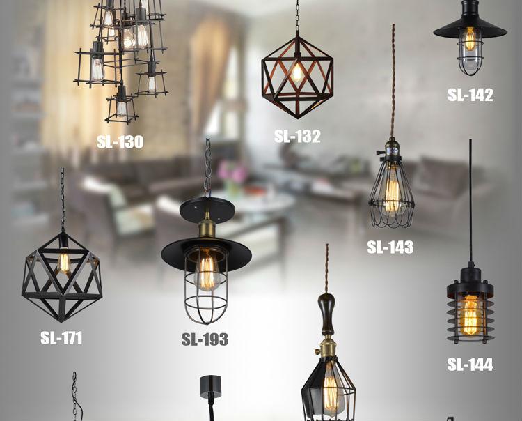 Moderne boule pendante lampe loft rond en acier inoxydable for Lampe de chevet moderne