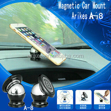 A-8 Universal Magnetic Phone/Mobile Device Mount for Car Dashboard and Various Hard Surface